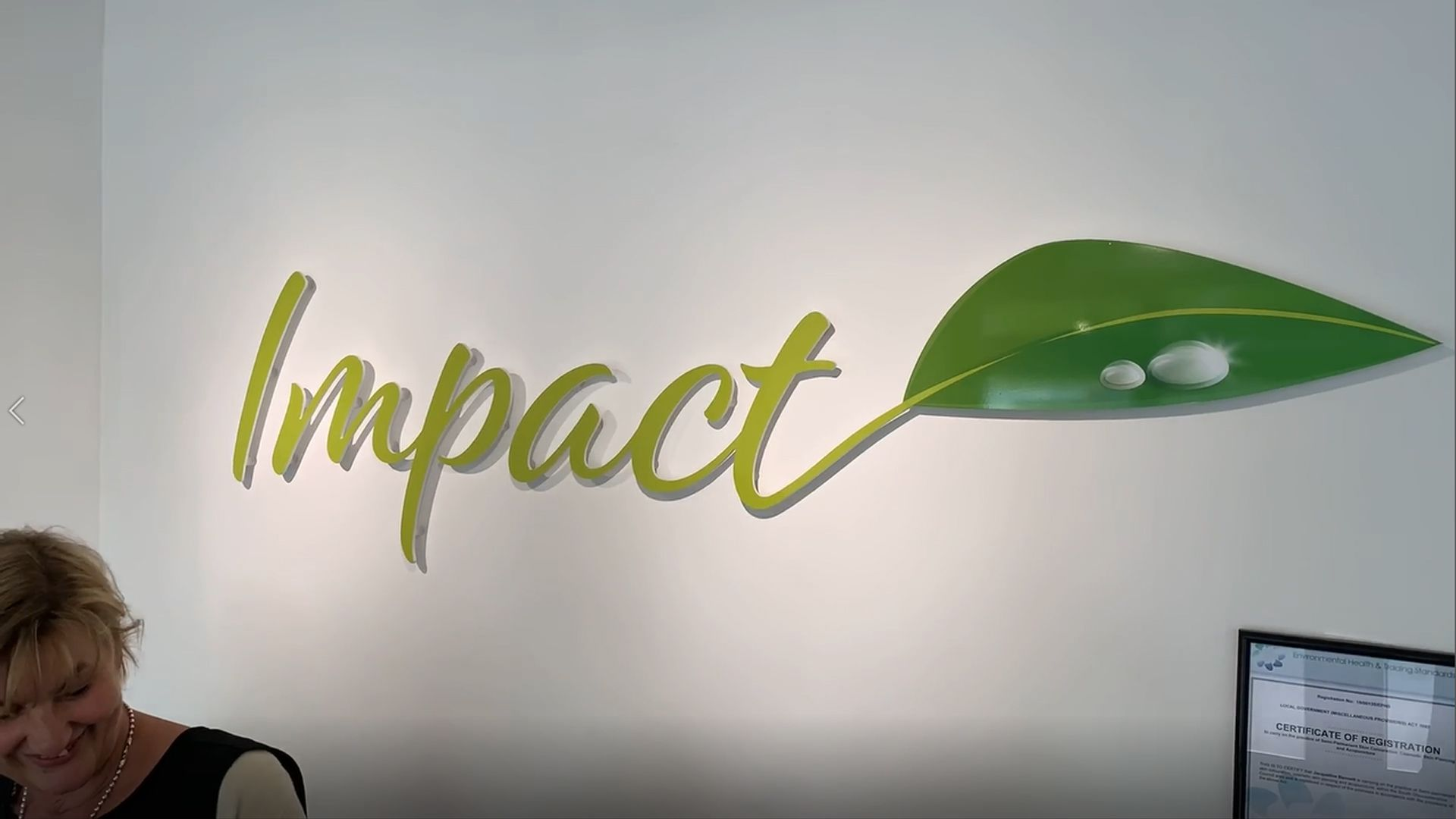 Impact Beauty and Aesthetics Salon video