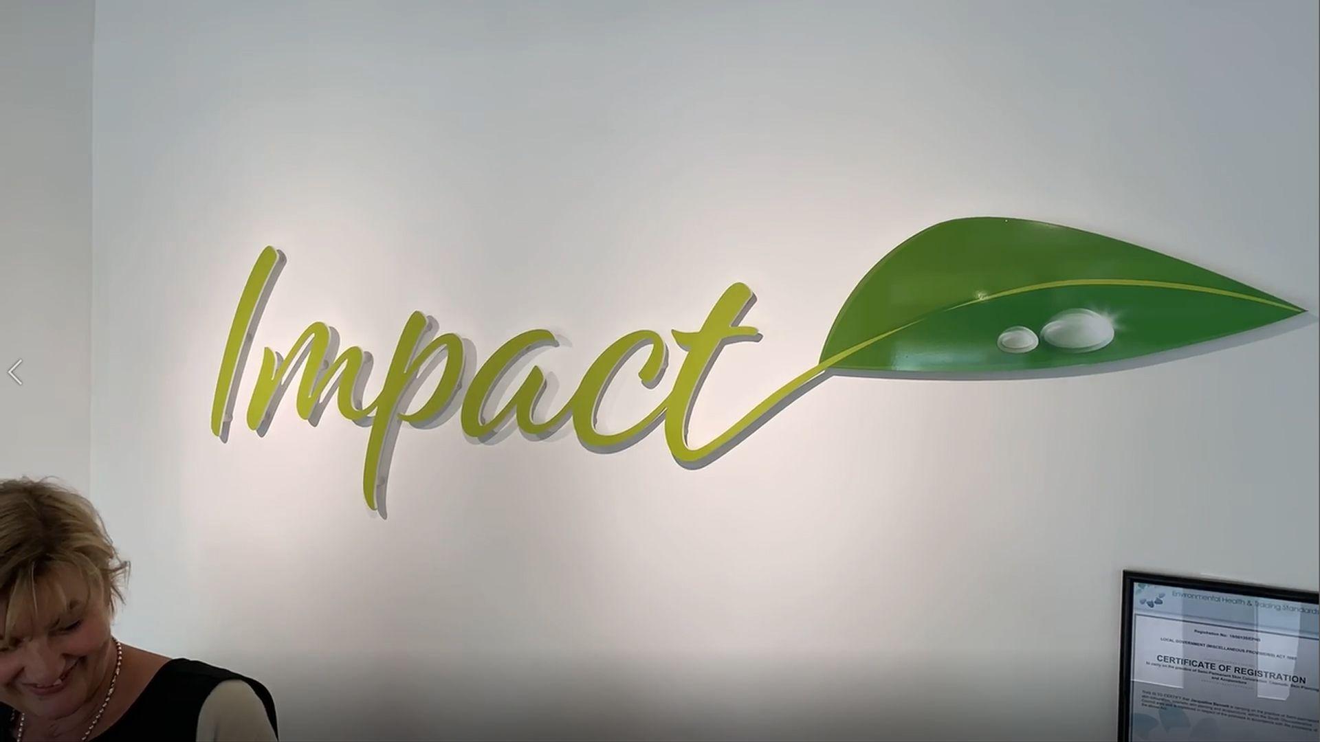 Impact Beauty and Aesthetics Salon video